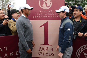 Tiger and Rory
